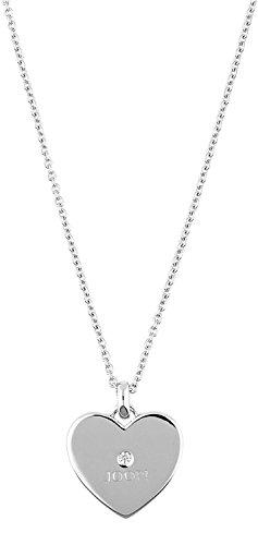 Joop Damen Halskette 925 Sterling Silber Zirkonia Paladin 48.0 cm weiß JPNL90699A420