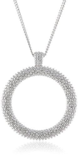 Joop Damen-Halskette Spume Epoxy schwarz 925 Sterling Silber ca. 45 cm (42 + 3 cm) JPNL90579A420
