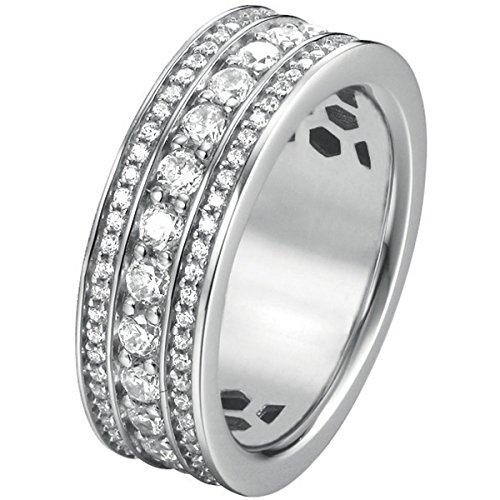 Joop Damen-Ring 925 Silber Zirkonia weiß Gr. 55 (17.5) - JPRG90745A550