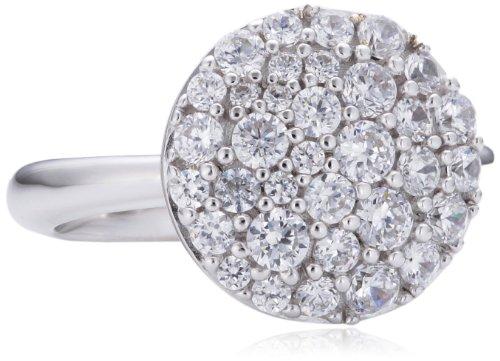 Joop Damen-Ring 925 Sterling Silber Zirkonia Demi weiß Gr.53 (16.9) JPRG90679A530