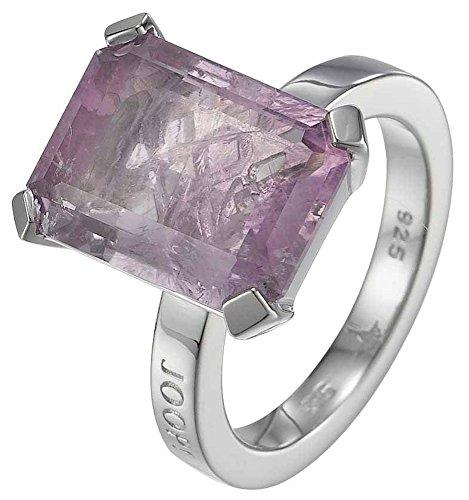 Joop Damen-Ring 925 Sterling Silber rhodiniert Amethyst Kate pink Gr.55 (17.5) JPRG90496B550