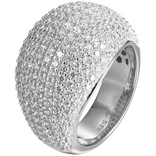 Joop Damen-Ring AMY 925 Silber Zirkonia weiß Gr. 57 (18.1) - JPRG90734D570