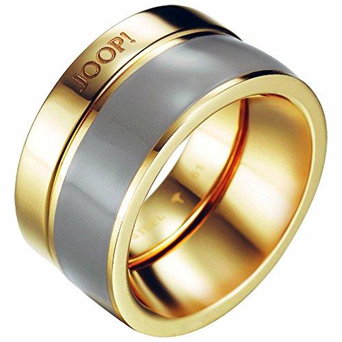 joop damen ring pristine edelstahl rhodiniert kunststoff. Black Bedroom Furniture Sets. Home Design Ideas