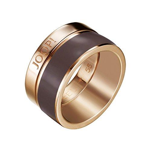 Joop Damen-Ring Silber vergoldet Pristine Gr.55 (17.5) JPRG10593C550