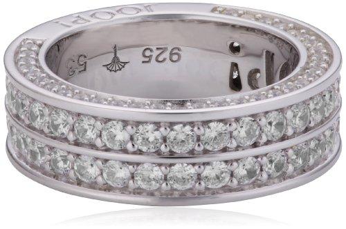 Joop Damen-Ring Zirkonia weiss 925 Sterling Silber Gr. 55 (17.5) JPRG90666A550
