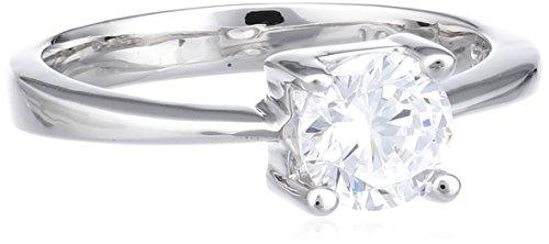Joop Damen-Ring mit Zirkonia weiÃY Gr.51 JPRG90053A510