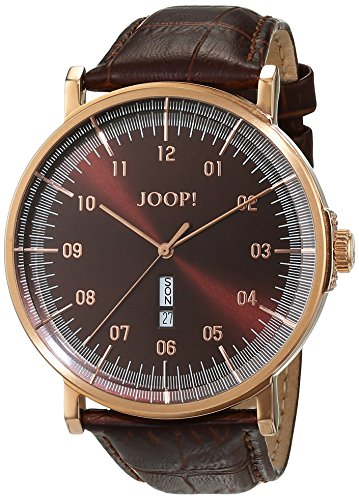 Joop! Herren-Armbanduhr Executive Analog Quarz Leder JP100821F05