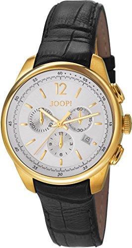 Joop! Herren-Armbanduhr Observer Chronograph Quarz Leder JP101171F05