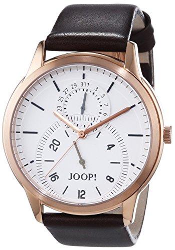 Joop! Herren-Armbanduhr XL Classic 24 Analog Quarz Leder JP101401001