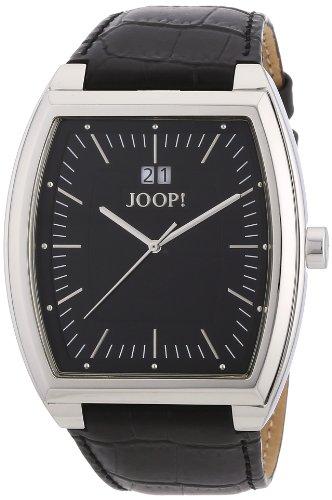 Joop! Herren-Armbanduhr XL Classico Toneau Analog Quarz Leder JP100441002