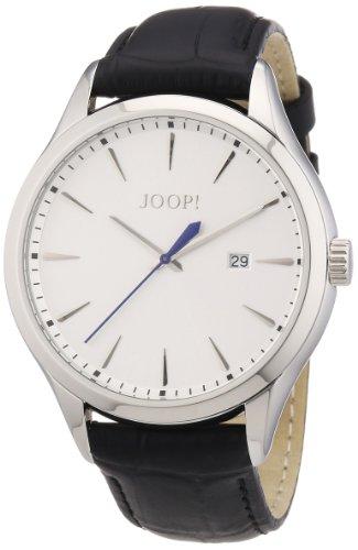 Joop! Herren-Armbanduhr XL Composure Analog Quarz Leder JP100701F02
