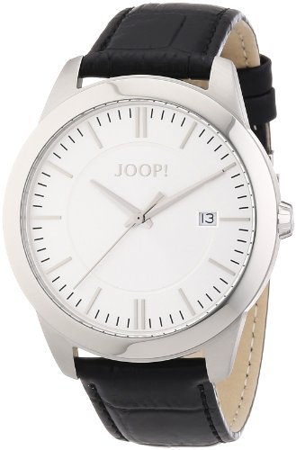 Joop! Herren-Armbanduhr XL Element Analog Quarz Leder JP101061F02