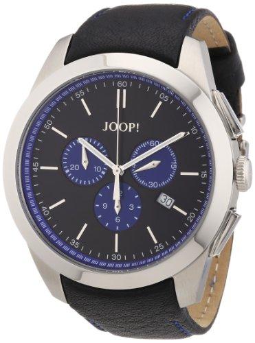 Joop Herren-Armbanduhr XL Savvy Chronograph Quarz Leder JP100711F02
