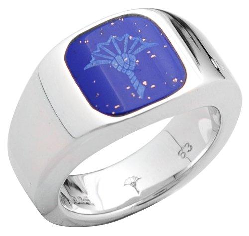 Joop Herren Silber Ring Cornflower JPRG90576C, Ringgröße:63 (20.1)