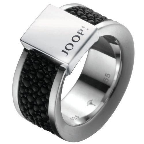 Joop JJ0926 Herren Ring Sterling-Silber 925 schwarz 18,8 mm Größe 59