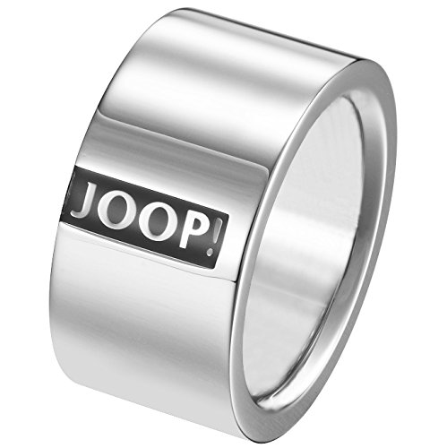 Joop JPRG10603A Herren Ring Logo Signature Edelstahl 20,1 mm Größe 63