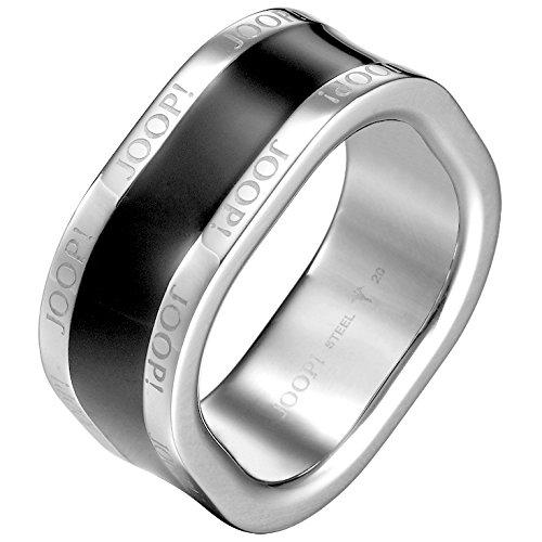 Joop JPRG10634A Herren Ring JP-Dennis Edelstahl Epoxy schwarz 20,1 mm Größe 63