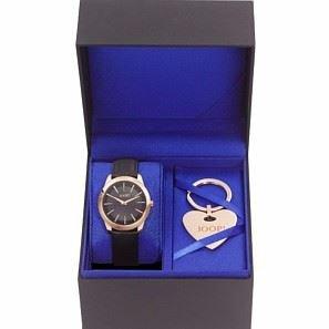 Joop Set , Damenuhr mit Schlüsselanhänger - JPSE10002A000