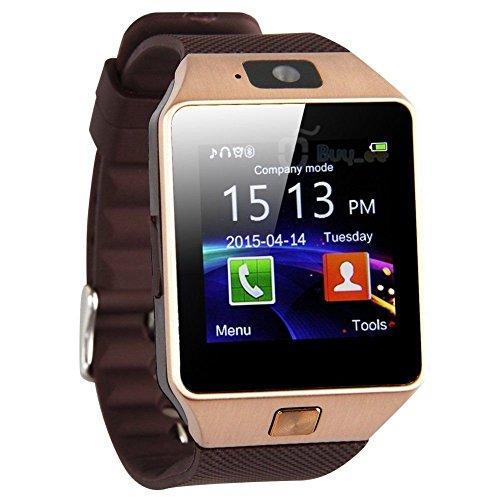 KingDo® Bluetooth AndroidUhr3GTelefon mit Kamera E040 (Gold)