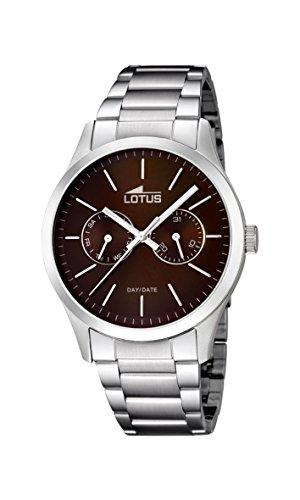 Lotus Herren-Armbanduhr XL Analog Quarz Edelstahl 15954/2