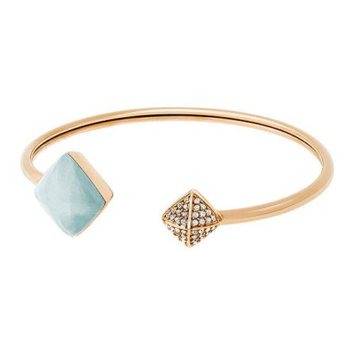 MICHAEL KORS Damen-Armband Edelstahl Glas transparent - MKJ5224710