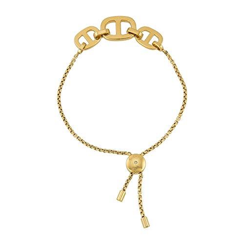 michael kors damen armband edelstahl zirkonia gold. Black Bedroom Furniture Sets. Home Design Ideas