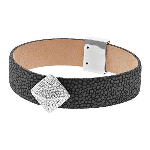 michael kors damen armband leder silber mkj5225040 ringe. Black Bedroom Furniture Sets. Home Design Ideas
