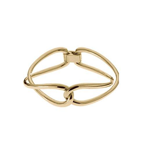 Michael Kors mkj2005Damen Gold Ton Love Twist Armband Schmuck