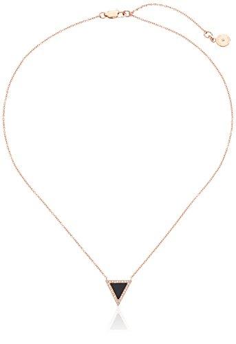 michael kors mkj4368 rose gold ton halbedelstein triangle. Black Bedroom Furniture Sets. Home Design Ideas