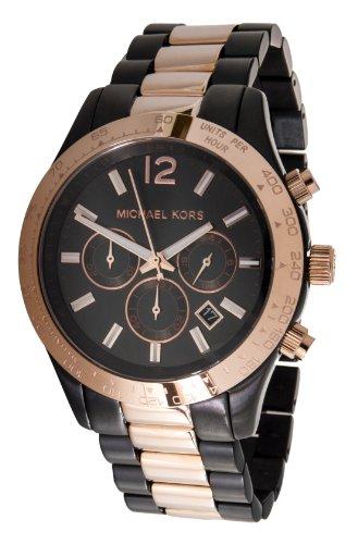 Micheal Kors Herren-Armbanduhr XL Analog Quarz Edelstahl MK8208