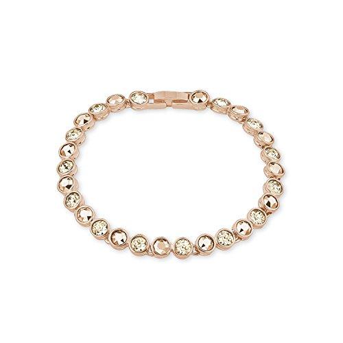 NOELANI Damen-Armband Swarovski Elements Messing teilvergoldet Kristall mehrfarbig 19.5 cm - 568647