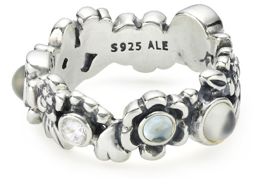PANDORA Damen-Ring Sterling-Silber 925  19121BTP-56