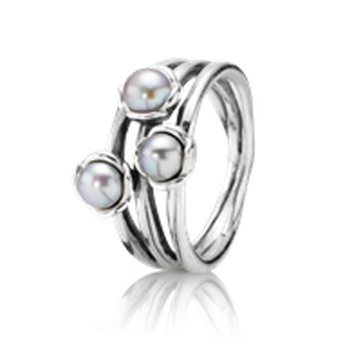 PANDORA Damen-Ring  Sterling-Silber 925  19606GP-56