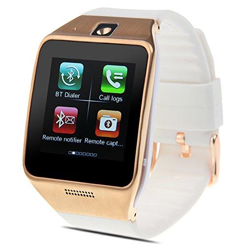 Padgene Bluetooth / SIM-Karte SmartWatch Armbanduhr Kamera GSM GPRS Tracker für Android iPhone Samsung LG HTC