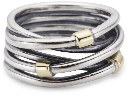 Pandora 190383 Ring Sterling Silber mit 14K Gold 50 Gr. 60 (19.1) 19383-60