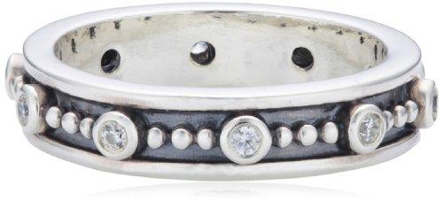 Pandora Damen-Ring 925 Sterling Silber Zirkonia weiß Gr. 56 (17.8) 190882CZ-56