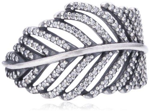 Pandora Damen-Ring 925 Sterling Silber Zirkonia weiß Gr.54 (17.2) 190886CZ-54