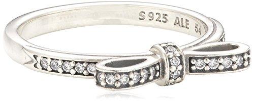 Pandora Damen-Ring 925 Sterling Silber Zirkonia weiß Gr.54 (17.2) 190906CZ-54