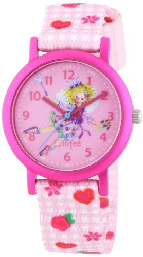 Prinzessin Lillifee Mädchen-Armbanduhr Analog Quarz Textil 454308