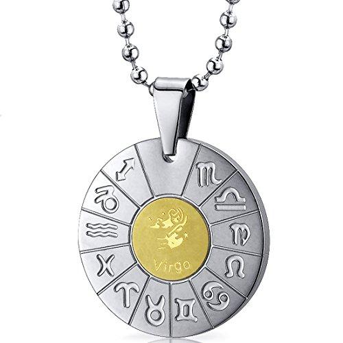 Revoni Herren Halskette Edelstahl 2.54 cm PER-SN10148