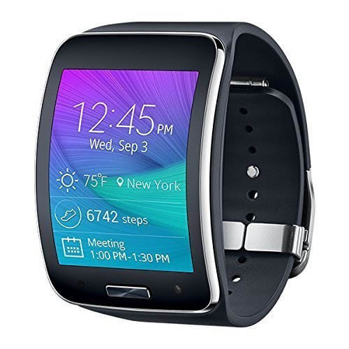 Samsung Gear S Smartwatch, SM-R750, Black 4GB -Asia Version-