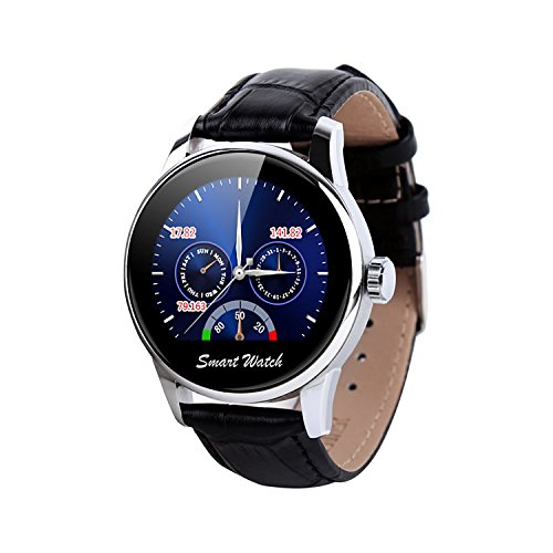 Smart Watch Bluetooth Wireless Handy Armbanduhr Zifferblatt Display SmartWatches für iPhone und Android i9 von fantime