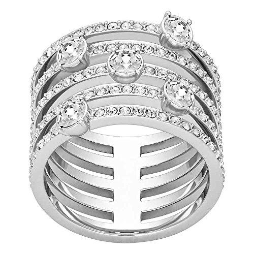 Swarovski Damen-Ring Creativity Wide rhodiniert weiß Gr. 60 (19.1) - 5184240