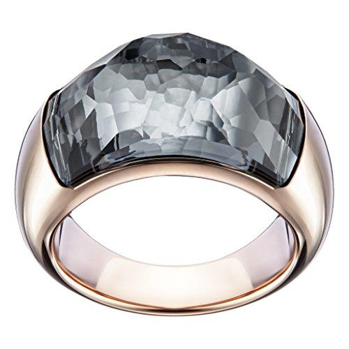 Swarovski Damen-Ring Dome Kristall grau Gr. 50 (15.9) - 5184251