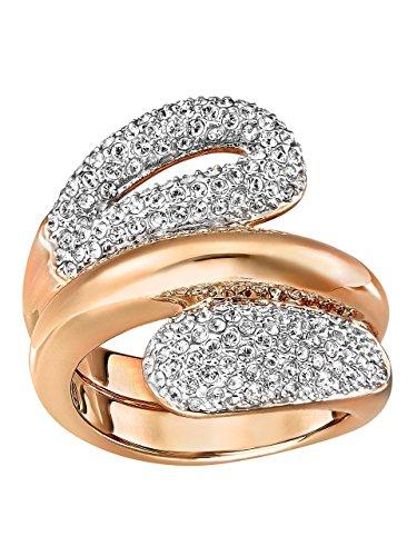 Swarovski Damen-Ring Every Wide Edelstahl Kristall transparent Gr. 60 (19.1) - 5221559