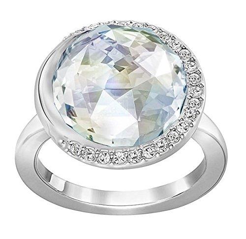 Swarovski Damen-Ring Except rhodiniert Kristall weiß Gr. 55 (17.5) - 5182482