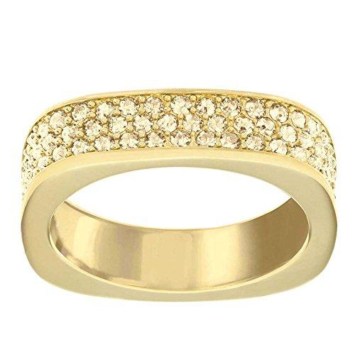 Swarovski Damen-Ring Glas transparent Gr. 52 (16.6) - 5139700
