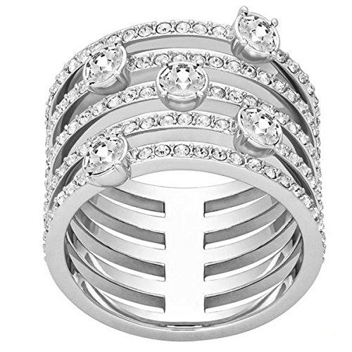 Swarovski Damen-Ring Glas transparent Gr. 55 (17.5) - 5166812