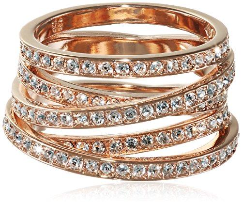 Swarovski Damen-Ring Glas transparent Gr. 58 (18.5) - 5063925