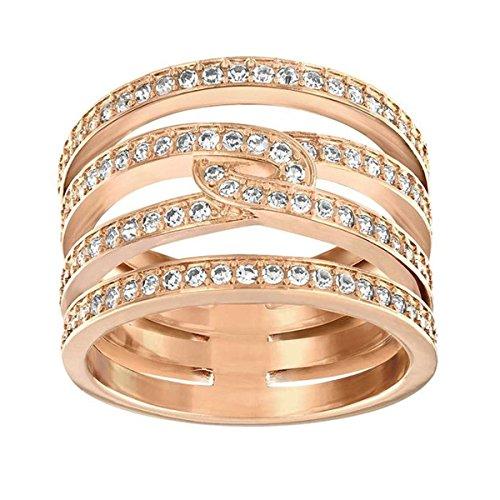 Swarovski Damen-Ring Glas transparent Gr. 58 (18.5) - 5139655